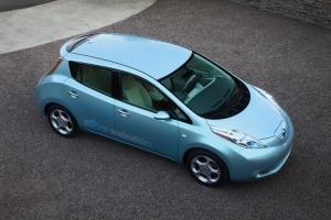 Photo of the Nissan Leaf (insideline.com)