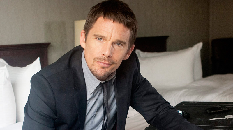 we have ethan hawke the green word