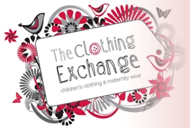 The Clothing Exchange logo.