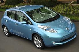Nissan Leaf.  Photo: autoblog.com.