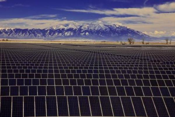 70 megawatt Rovigo solar plant in Northern Italy.  Photo:energyboom.com.
