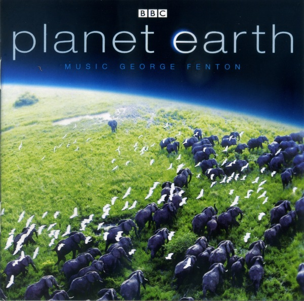 "Cover of the DVD pack for the ""Planet Earth"" documentary."