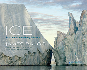 "Cover of ""Ice: Portraits of Vanishing Glaciers"""
