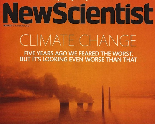 New Scientist cover.  Image: Climate Progress.