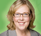 Green Party Leader Elizabeth May.